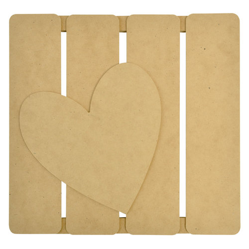 Kaisercraft - Beyond the Page Collection - 3 Dimensional Wall Art - Heart