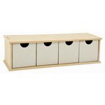 Kaisercraft - Beyond the Page Collection - Horizontal Drawer Unit