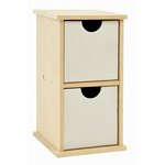 Kaisercraft - Beyond the Page Collection - 2 Drawer Unit