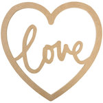 Kaisercraft - Beyond the Page Collection - Script Heart - Love