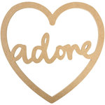 Kaisercraft - Beyond the Page Collection - Script Heart - Adore