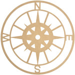 Kaisercraft - Beyond the Page Collection - Wall Art - Compass