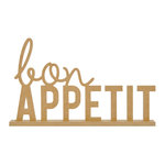Kaisercraft - Beyond the Page Collection - Standing Word - Bon Appetit