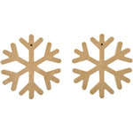 Kaisercraft - Beyond the Page Collection - Snowflake Decorations