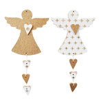 Kaisercraft - Beyond the Page Collection - Angel Decorations