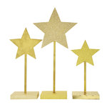 Kaisercraft - Beyond the Page Collection - Christmas - Standing Stars