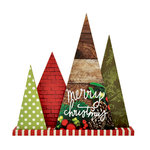 Kaisercraft - Beyond the Page Collection - Christmas - Standing Forest