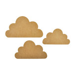 Kaisercraft - Beyond the Page Collection - Cloud Wall Art