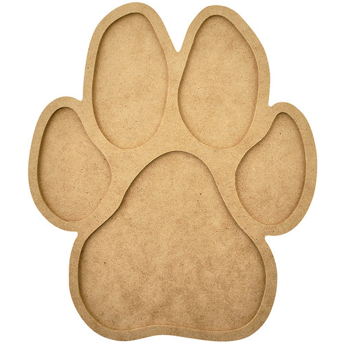 Kaisercraft - Beyond the Page Collection - Paw Print Frame