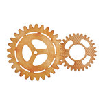 Kaisercraft - Beyond the Page Collection - Cogs Wall Art