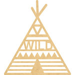 Kaisercraft - Beyond the Page Collection - Wall Art - Tee Pee