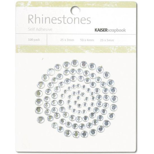 Kaisercraft - Rhinestones - Silver