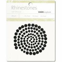 Kaisercraft - Rhinestones - Black