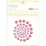Kaisercraft - Pearls - Hot Pink