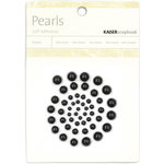 Kaisercraft - Pearls - Black