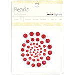 Kaisercraft - Pearls - Red