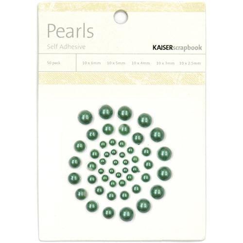 Kaisercraft - Pearls - Green