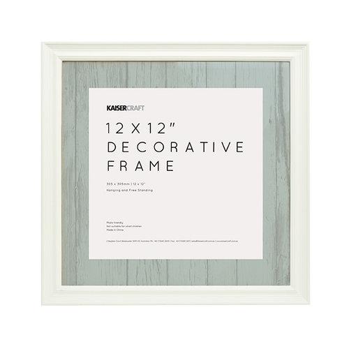 Kaisercraft - Frame - 12 x 12 - White