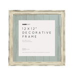 Kaisercraft - Distressed Frame - 12 x 12 - Antique White