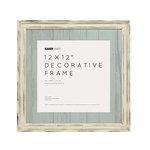 Kaisercraft - Distressed Frame - 12 x 12 - Antique White