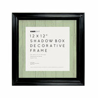 Kaisercraft - Shadow Box Frame - 12 x 12 - Black