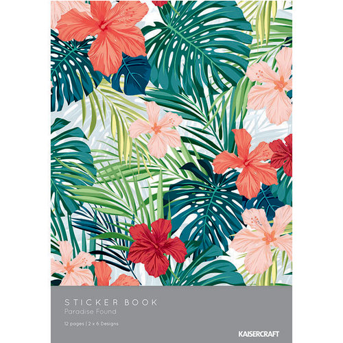 Kaisercraft - Paradise Found Collection - Sticker Book