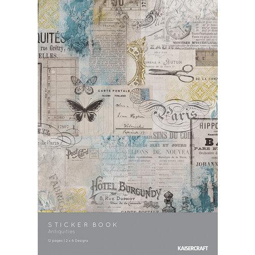 Kaisercraft - Antiquities Collection - Sticker Book