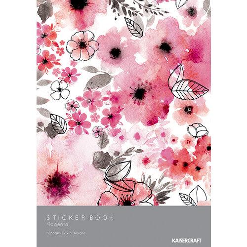 Kaisercraft - Magenta Collection - Sticker Book