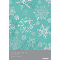 Kaisercraft - Christmas - Let It Snow Collection - Sticker Book With Foil Accents