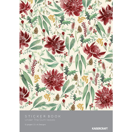Kaisercraft - Christmas - Under The Gum Leaves Collection - Sticker Book