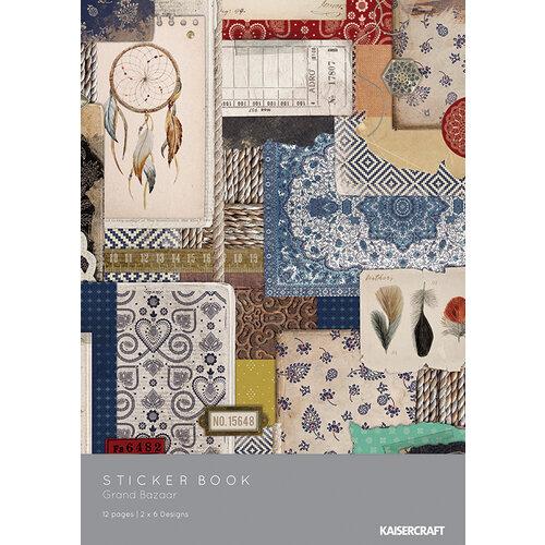 Kaisercraft - Grand Bazaar Collection - Sticker Book