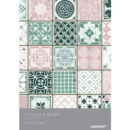 Kaisercraft - Lily and Moss Collection - 6 x 8 Sticker Book