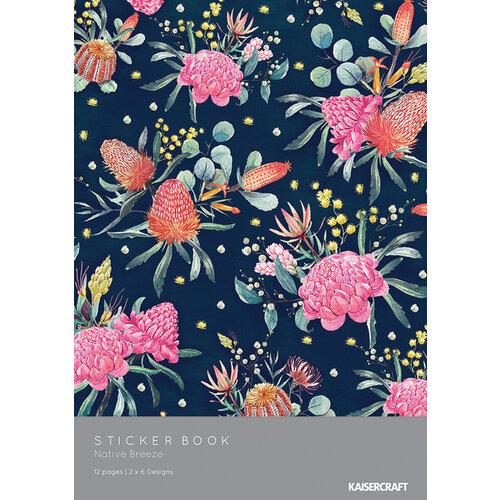 Kaisercraft - Native Breeze Collection - Sticker Book