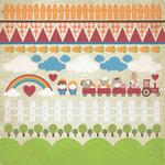 Kaisercraft - Cock-a-doodle-doo Collection - 12 x 12 Sticker Sheet - Farm