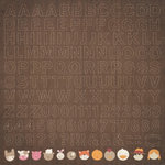 Kaisercraft - Cock-a-doodle-doo Collection - 12 x 12 Sticker Sheet - Alphabet