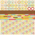 Kaisercraft - Save the Date Collection - 12 x 12 Sticker Sheet - Alphabet