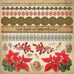 Kaisercraft - Turtle Dove Collection - Christmas - 12 x 12 Sticker Sheet