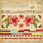 Kaisercraft - Tropicana Collection - 12 x 12 Cardstock Sticker Sheet