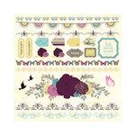 Kaisercraft - Botanical Odyssey - 12 x 12 Sticker Sheet