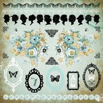 Kaisercraft - 75 Cents Collection - 12 x 12 Sticker Sheet