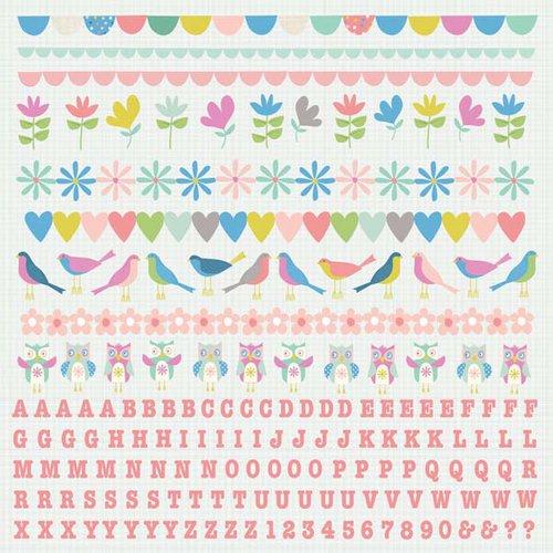 Kaisercraft - Suga Pop Collection - 12 x 12 Sticker Sheet