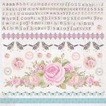 Kaisercraft - True Romance Collection - 12 x 12 Sticker Sheet