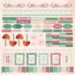 Kaisercraft - Enchanted Garden Collection - 12 x 12 Sticker Sheet
