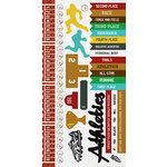 Kaisercraft - Game On Collection - Sticker Sheet - Athletics