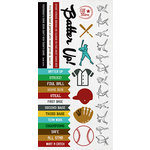 Kaisercraft - Game On Collection - Sticker Sheet - Baseball