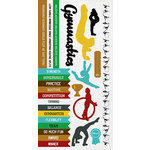 Kaisercraft - Game On Collection - Sticker Sheet - Gymnastics