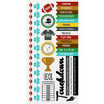 Kaisercraft - Game On Collection - Sticker Sheet - American Football