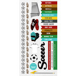 Kaisercraft - Game On Collection - Sticker Sheet - Soccer
