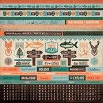 Kaisercraft - Outdoor Trail Collection - 12 x 12 Sticker Sheet