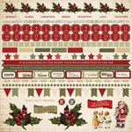 Kaisercraft - Yuletide Collection - Christmas - 12 x 12 Sticker Sheet
